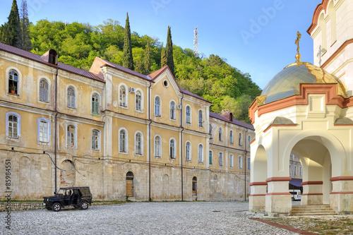 Fotografie, Obraz  Abkhazia. New Athos Simon the Zealot Monastery