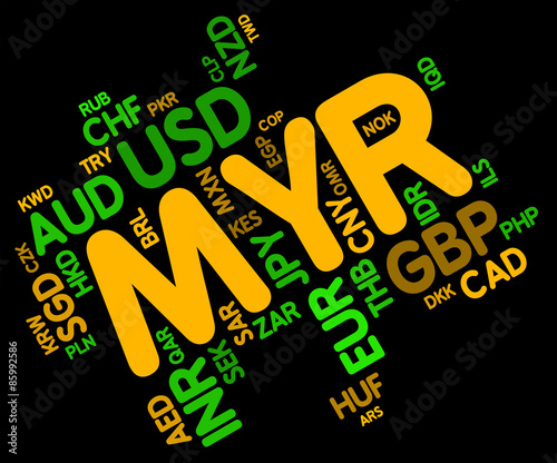 Myr Currency Shows Malaysia Ringgit And Fx - Buy this stock