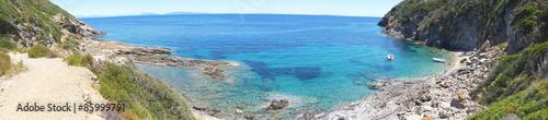 Fotomural Spiaggia Stagnone in isola Elba