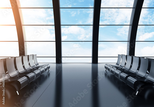 Foto op Aluminium Luchthaven big hall airport