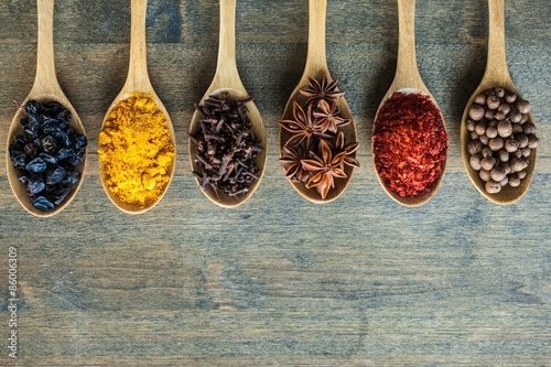 Canvas Prints Spices Indian, spice, food.