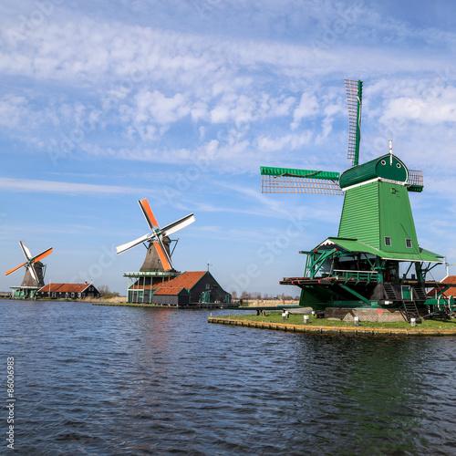Photo  les moulins de Zaanse Schans