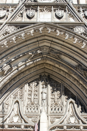 Photo  Heinz Chapel Arch - Gothic Architecture of Pittsburghs Historic and Grandiose He