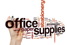 Office Supplies Word Cloud