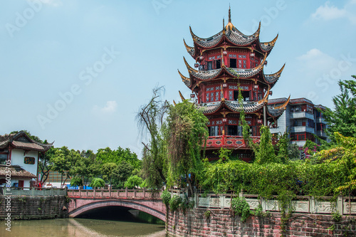 Photo  chinese tower