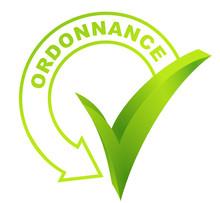 Ordonnance Sur Symbole Validé Vert