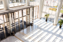 Hall And Entrance Of Modern Sh...