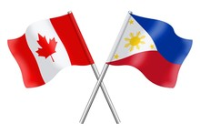 Flags: Canada And Philippines