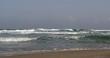 Mediterranean sea and Israeli beach