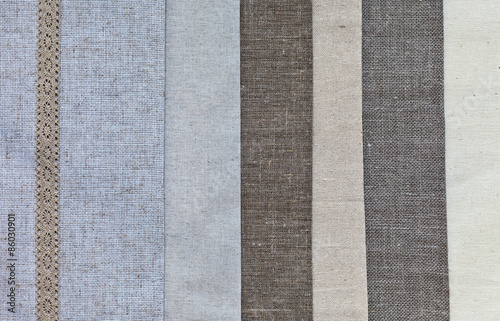 Diffe Types Of Natural Linen And Cotton Fabrics For Embroidery Creative Crafts