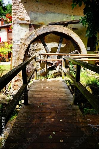 Poster Molens old mill