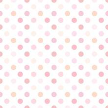 Polka Dot Pink Pattern