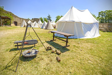 Medieval Style Tent And Camp F...