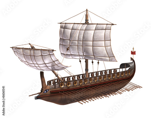 Photo  Roman Warship