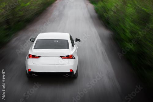 Платно  Car Speed on road