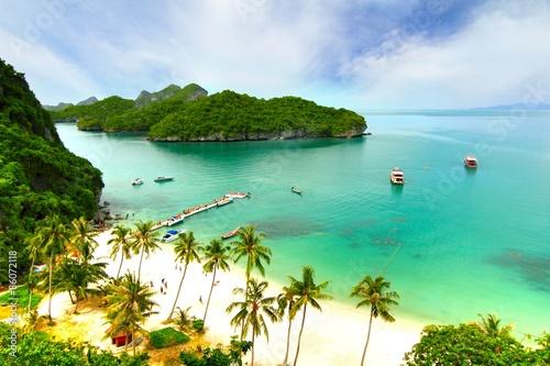 Foto op Canvas Eiland Paradise beach. Koh Samui, Thailand