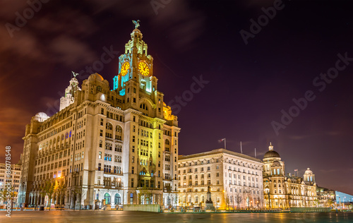 The Royal Liver, the Cunard and the Port of Liverpool Buildings