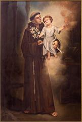 Plakat Tel Aviv - Saint Anthony of Padua from st. Peters church