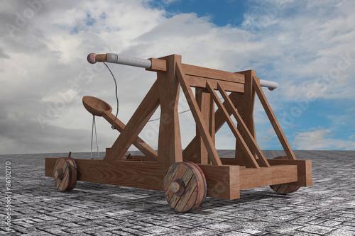 Catapult Fototapete