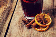 Cinnamon with orange