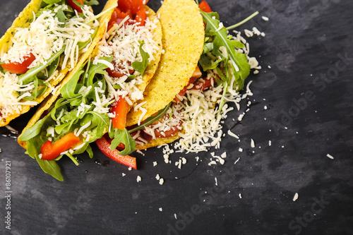 Fotografie, Obraz  Delicious taco