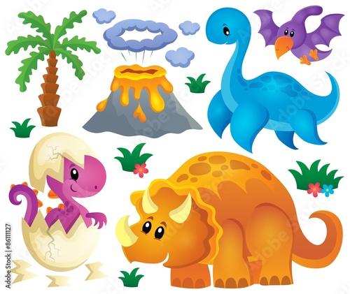Photo  Dinosaur theme set 2