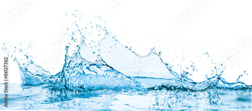Foto op Canvas Water water splash