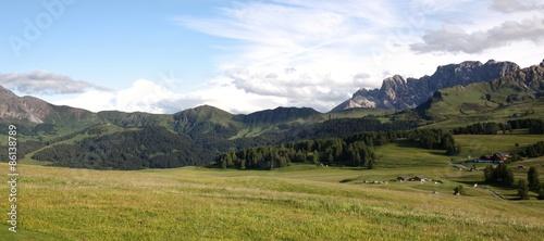 Fotografiet  Panorama Dolomiti