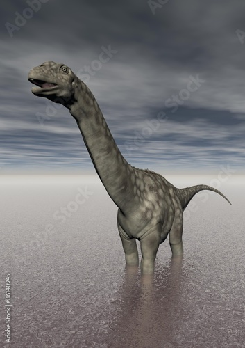 dinozaur-argentinosaurus-w-jeziorze