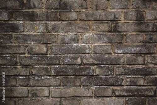 Foto op Plexiglas Wand Rustic Old Brick Wall Texture Pattern