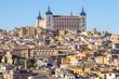 Toledo con su Alcázar (España)