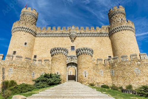 Castillo de Manzanares el Real, Madrid, España #86146519