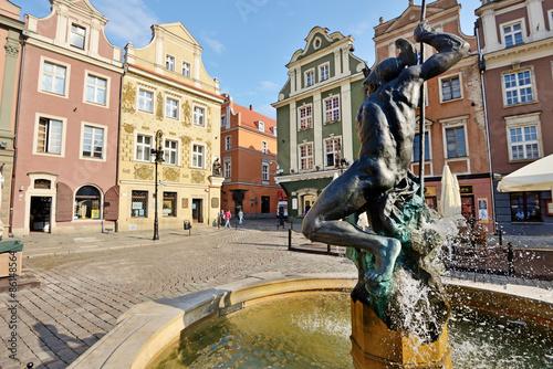Obraz na dibondzie (fotoboard) Rynek, Poznań, Polska