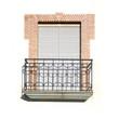 Window balcony shutters