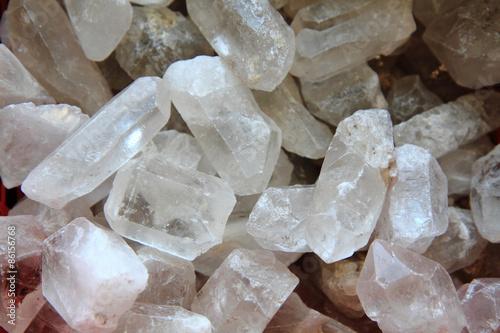 Fotografie, Obraz  crystal quartz background
