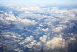 Niebo i chmury z lotu ptaka