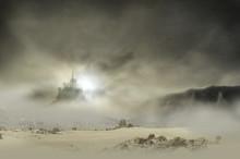 Castle In Clouds Rocky
