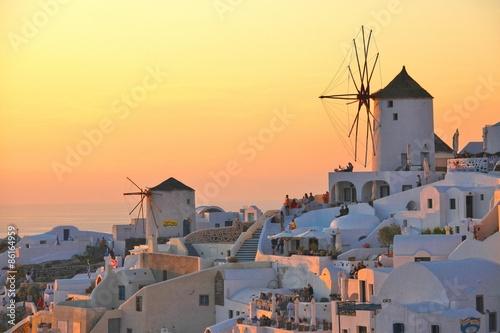 Fotografie, Obraz  Oia Sunset, Santorini island, Greece