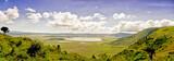 Fototapeta Sawanna - View of Crater Ngorongoro
