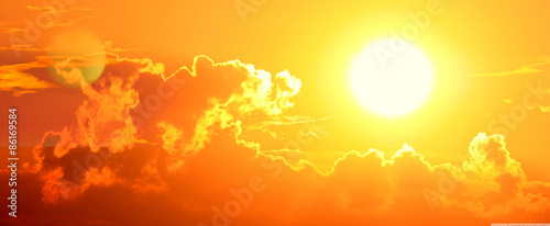 Coucher de soleil 7 Fototapete