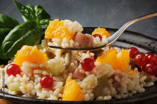 σαλάτα ρυζιού Rice salad Insalata di riso Ensalada de arroz סלט אורז Wallpaper Mural