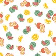 Orange & Watermelon Pattern