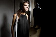 Criminal Stalking A Woman Alon...