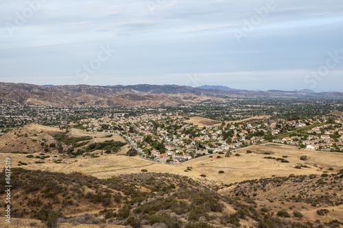 Fotografie, Obraz  Dry Drought Southern California Suburbia
