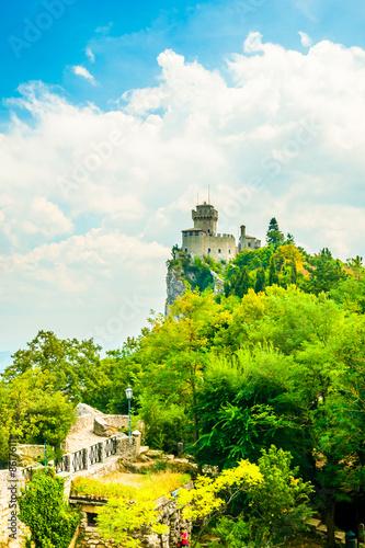 Staande foto Kasteel Cesta fortress, San Marino