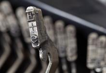 E Hammer - Old Manual Typewriter