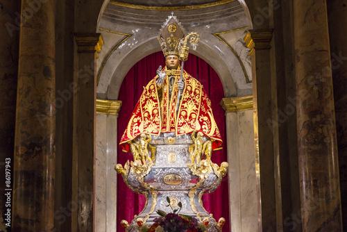 Fotografie, Obraz  Chapel of San Fermin, church of San Lorenzo, Pamplona (Spain)