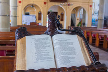 GIBRALTAR, SPAIN September 3, 2014: .The Cathedral Anglican Euro