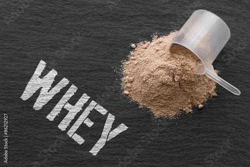 Photo WHEY - Protein - Fitness - Kraftaufbau