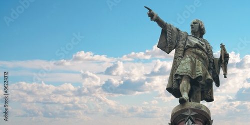 Barcelona Christopher Columbus monument